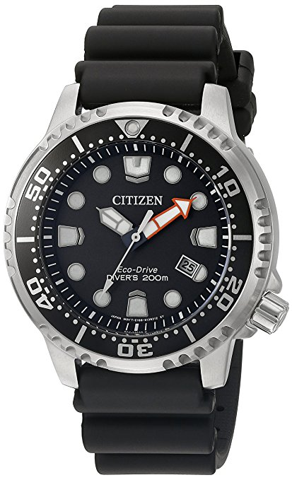 Normally $300, this Citizen men's diving watch is 63 percent off today (Photo via Amazon)