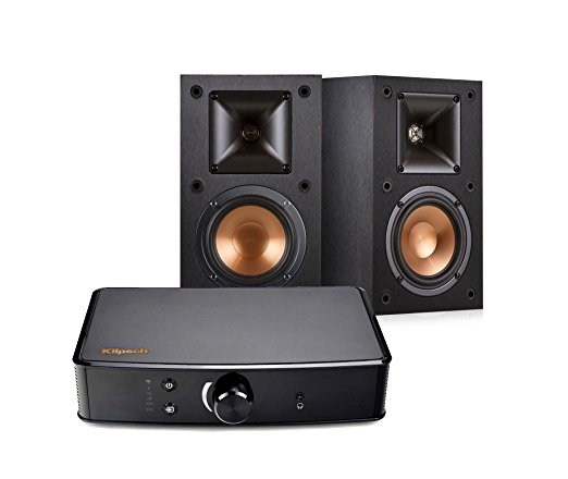 Normally $700, this speakers and amplifier bundle is 48 percent off today (Photo via Amazon)