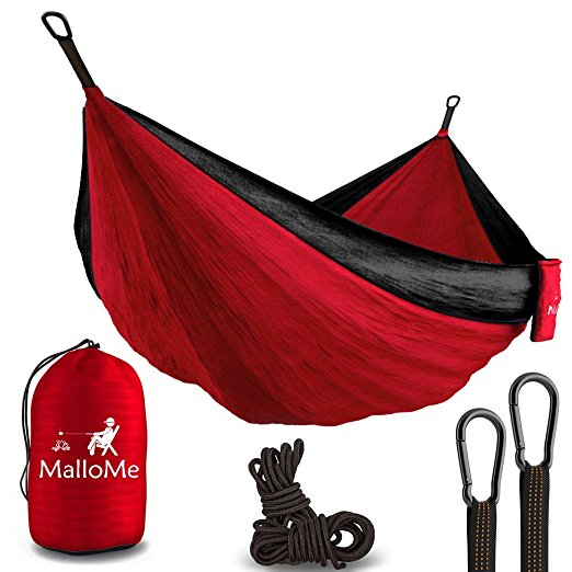 Normally $90, this double camping hammock is 76 percent off (Photo via Amazon)