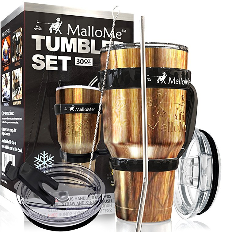 Normally $90, this tumbler set is 81 percent off (Photo via Amazon)