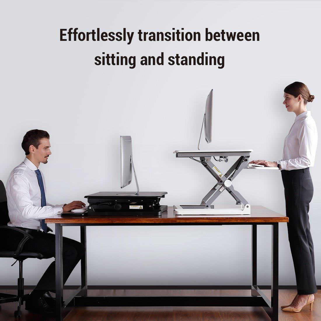 A Standing Desk Riser Will Drastically Improve Your Productivity And