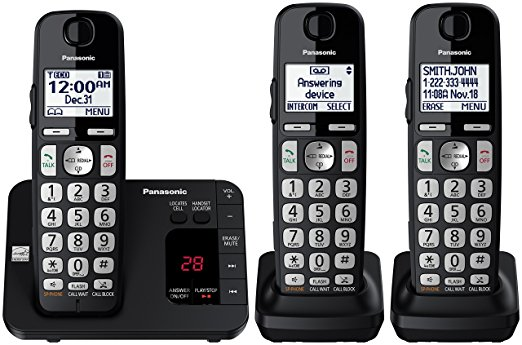 Normally $90, this cordless phone set with answering machine is 47 percent off today (Photo via Amazon)