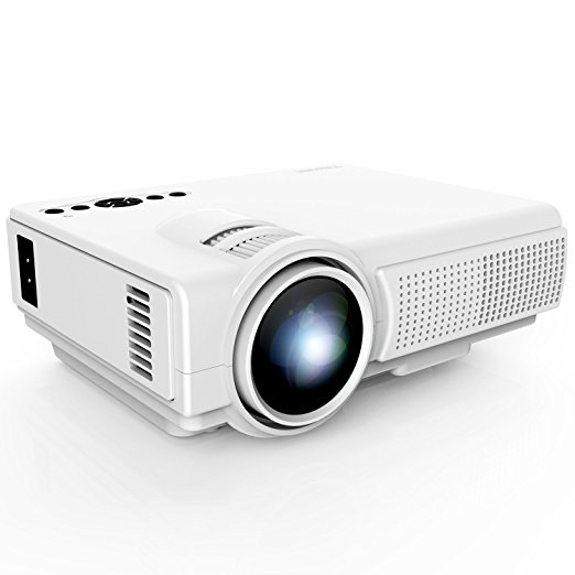 Normally $70, this mini projector is half off with this code (Photo via Amazon)