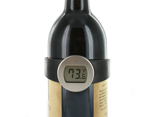 Normally $28, this wine bottle thermometer is 64 percent off
