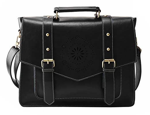 Normally $57, this women's briefcase is 42 percent off today (Photo via Amazon)