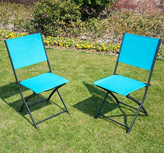 Normally $100, this 2-pack of folding chairs is 66 percent off today (Photo via Amazon)