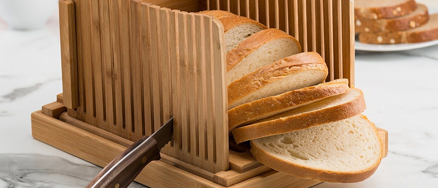 This bread slicer cuts up the competition (Photo via Amazon)