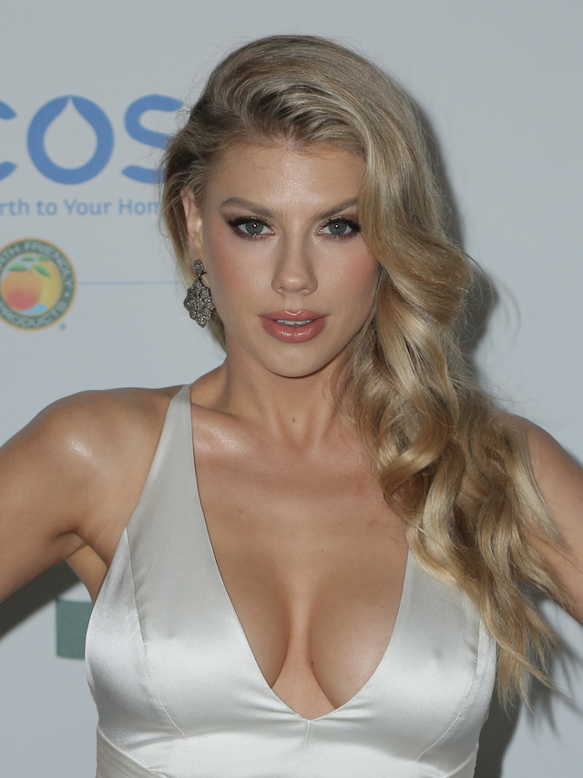 LOS ANGELES, CA - FEBRUARY 28: Celebrity arrival at the 15th Annual Global Green Pre-Oscar Gala at NeueHouse Hollywood on February 28, 2018 in Los Angeles, California. Pictured: Charlotte McKinney Picture by: @ParisaMichelle / Splash News