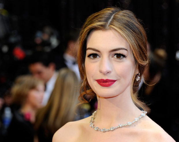Anne Hathaway is mostly Irish, but also has English, German and French ancestry. (Photo: Ethan Miller/Getty Images)