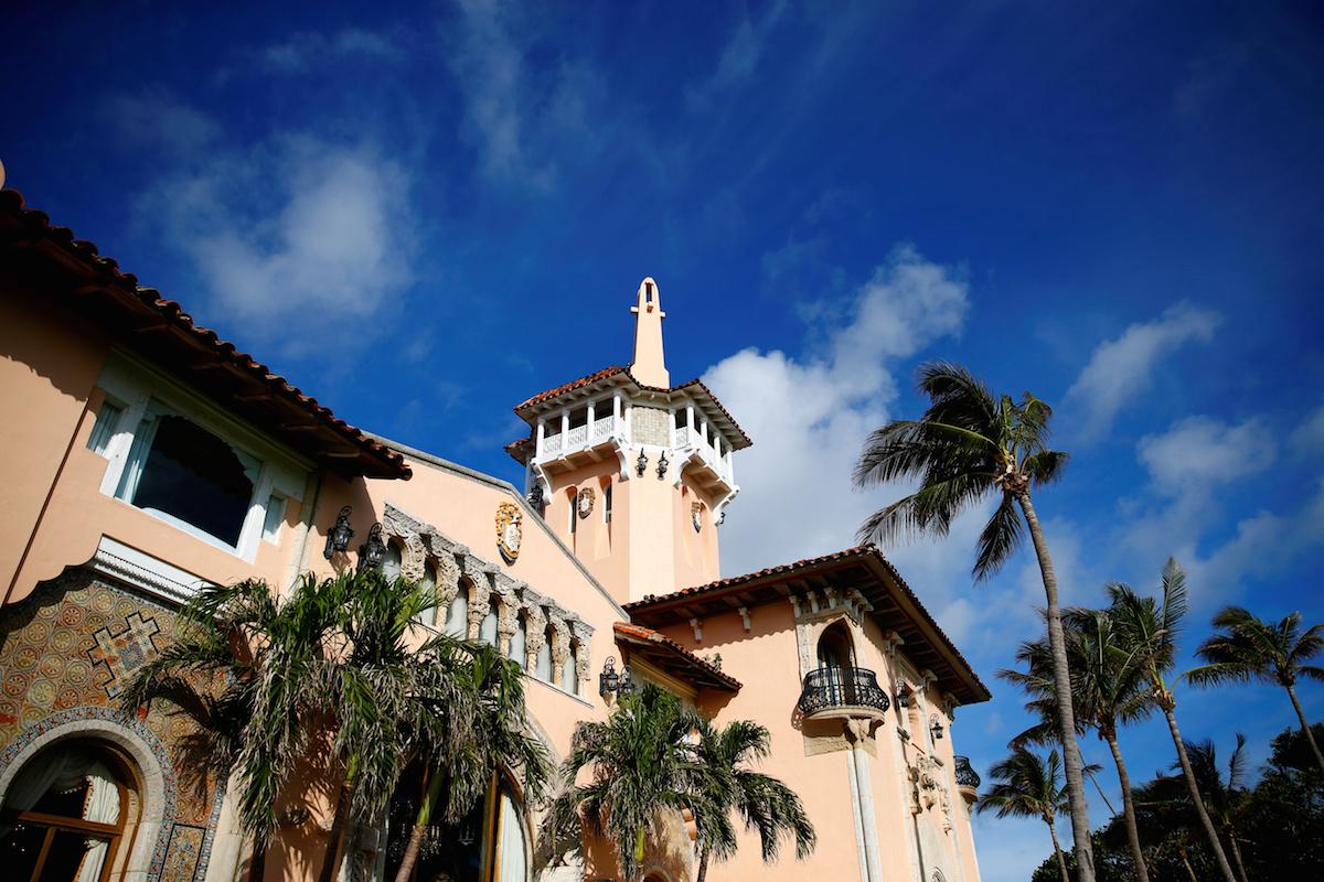 Donald Trump: Mar-a-Lago in Palm Beach, Florida. (REUTERS/Eric Thayer)