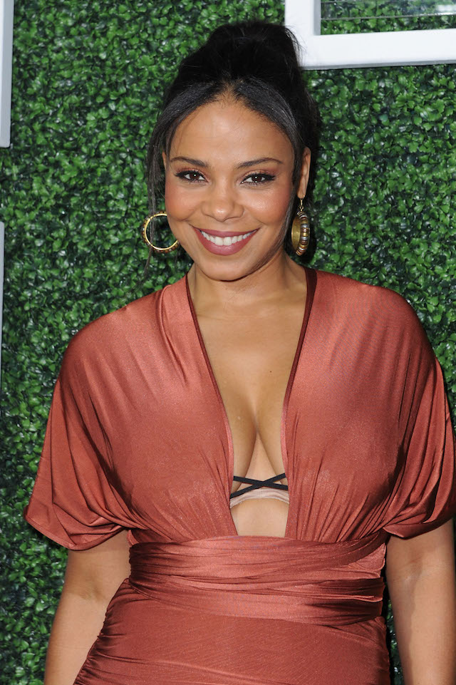 WEST HOLLYWOOD, CA - FEBRUARY 26: Actress Sanaa Lathan attends Common's Toast to the Arts sponsored by Remy Martin at Ysabel on February 26, 2016 in West Hollywood, California. (Photo by Joshua Blanchard/Getty Images for Think Common Music, Inc)