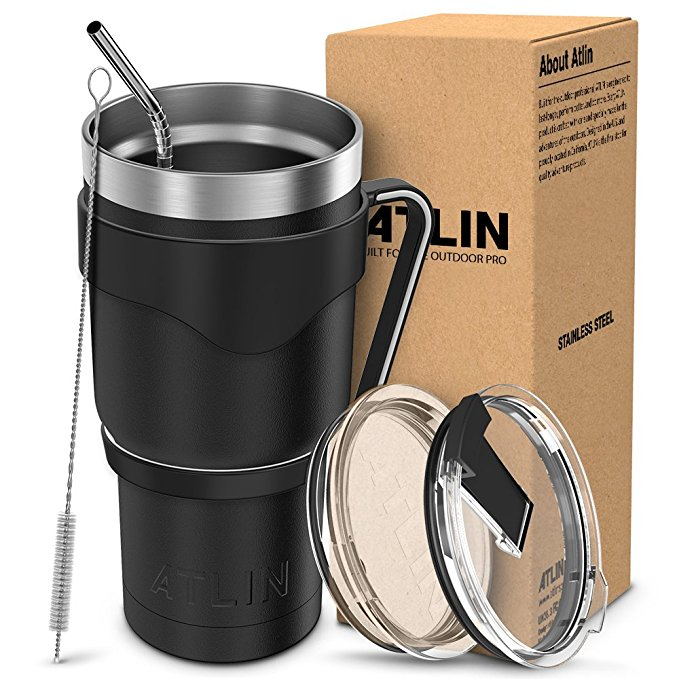 Normally $30, this tumbler is 50 percent off today (Photo via Amazon)