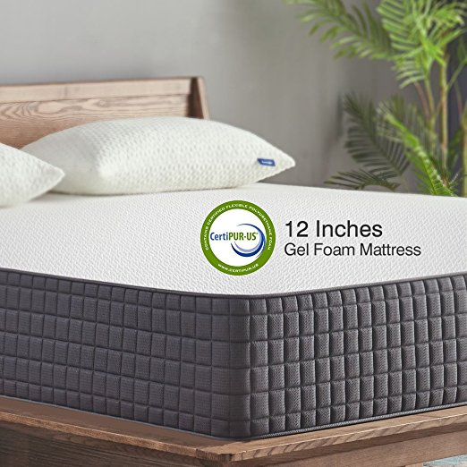 Normally $568, this memory foam mattress is 30 percent off with this code (Photo via Amazon)