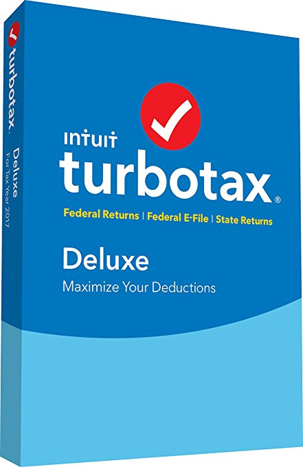 Normally $60, TurboTax Deluxe is 25 percent off (Photo via Amazon)