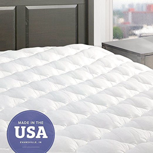 Normally $98, this mattress pad is 24 percent off today (Photo via Amazon)