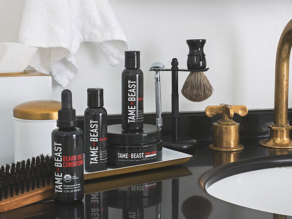 Normally $34, this shave set is 26 percent off