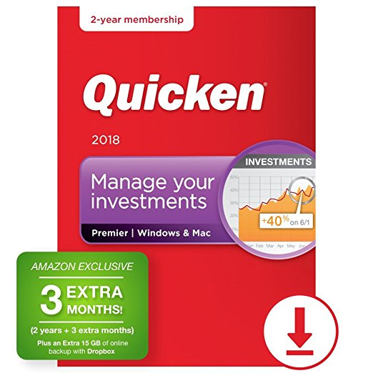 Normally $130, this Quicken finance software is 40 percent off today (Photo via Amazon)
