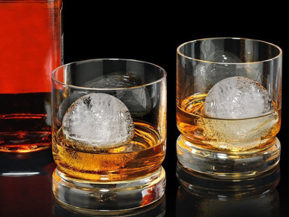 Normally $20, this 2-pack of whiskey ball molds is 25 percent off