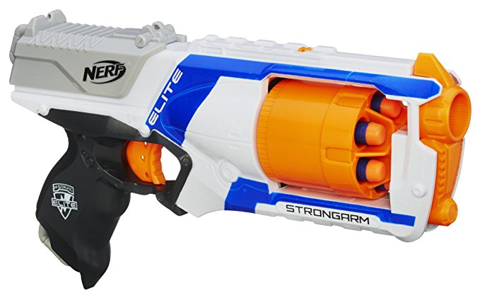 Normally $13, this Nerf gun is 26 percent off today (Photo via Amazon)