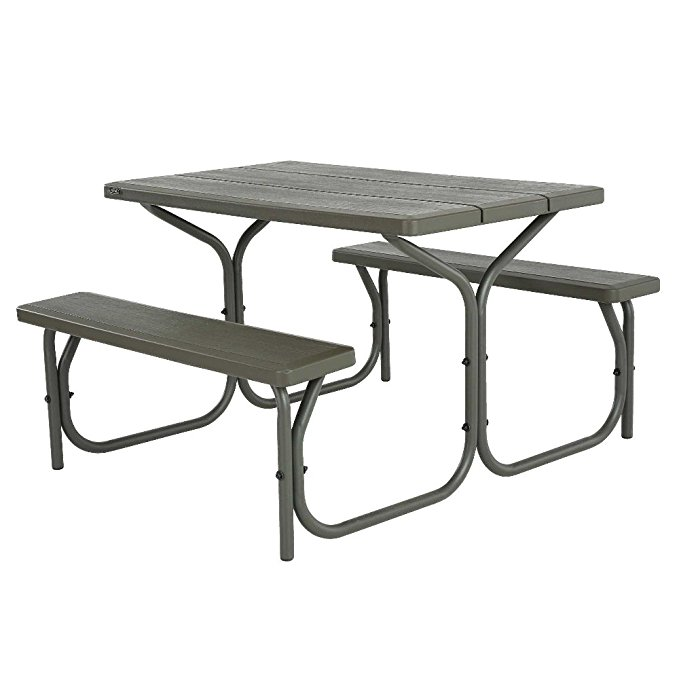 Normally $200, this picnic table is 50 percent off today (Photo via Amazon)