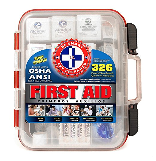 Normally $35, this first aid kit is 25 percent off today (Photo via Amazon)