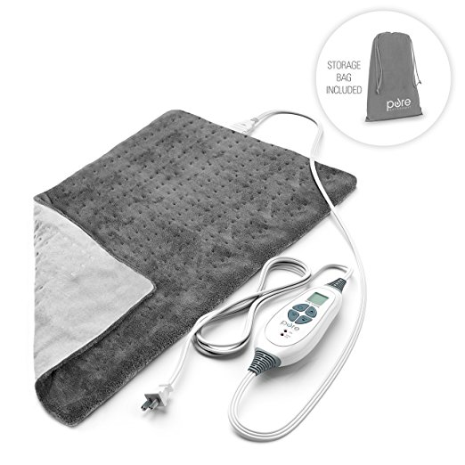 Normally $40, this heating pad is 35 percent off today (Photo via Amazon)