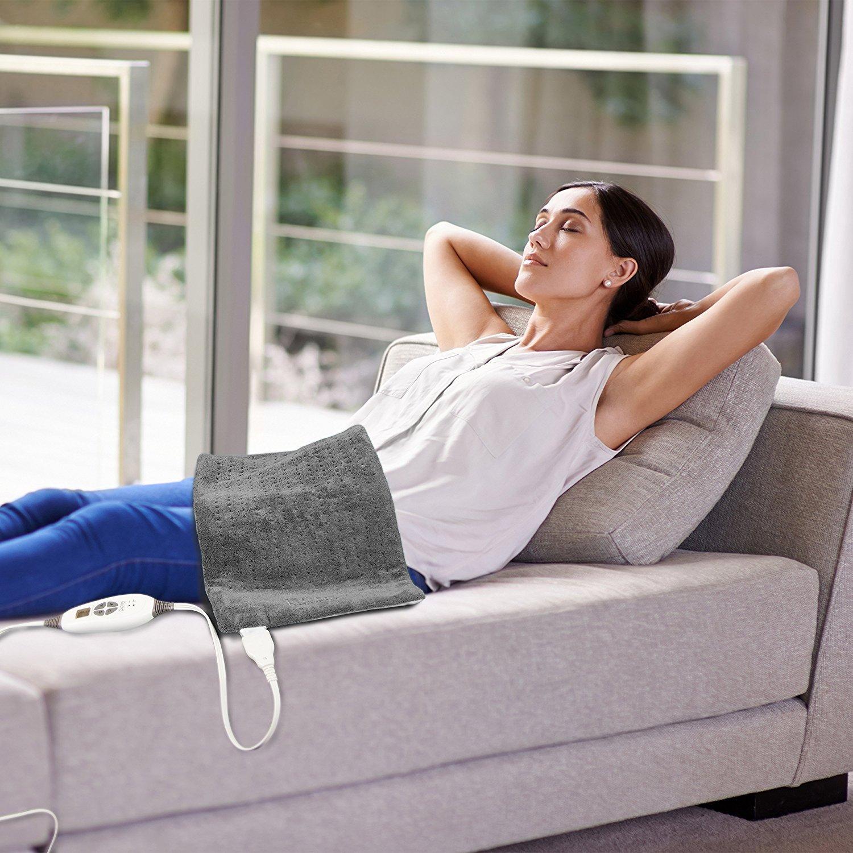 Heating pad (Photo via Amazon)
