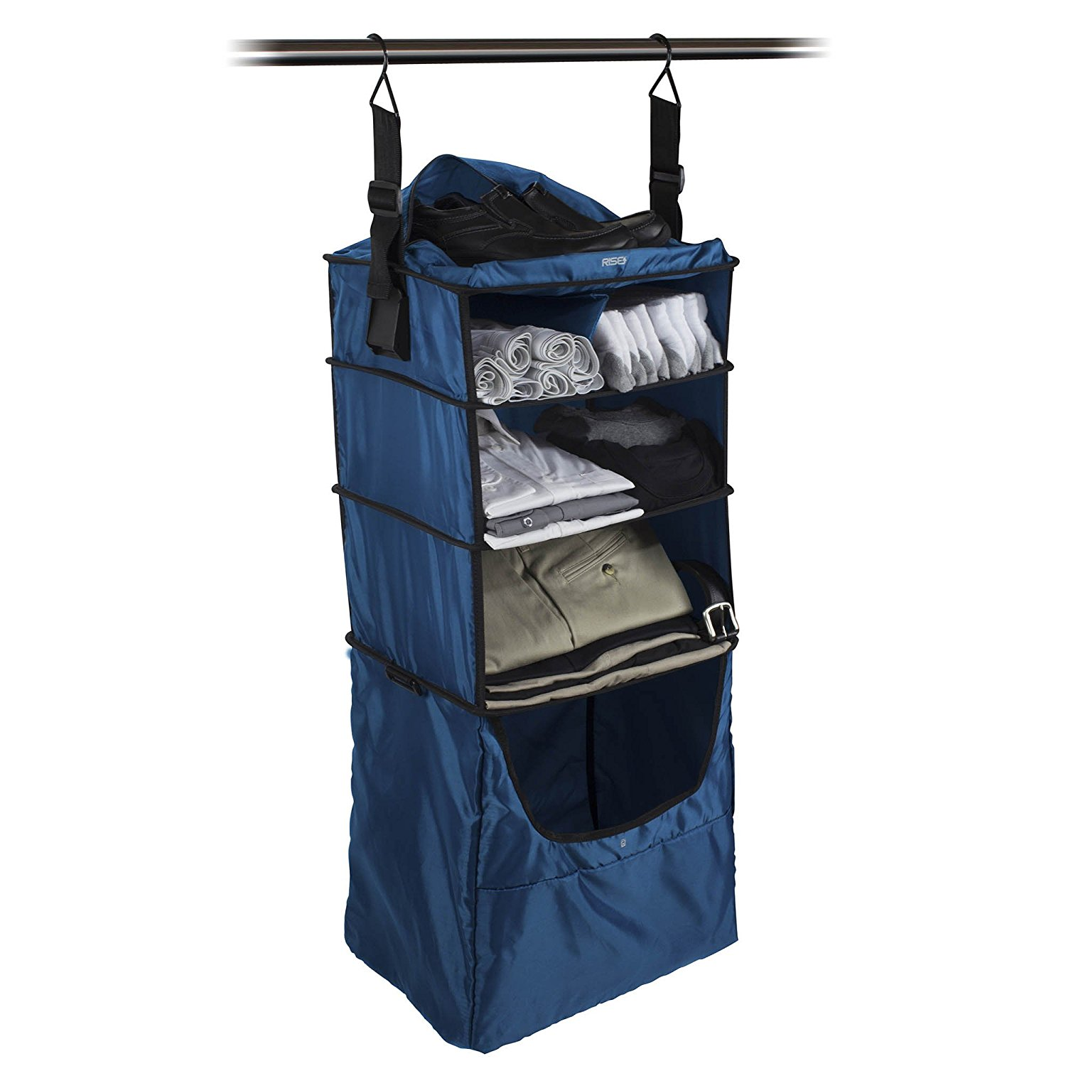 Normally $60, this portable luggage insert is 33 percent off (Photo via Amazon)