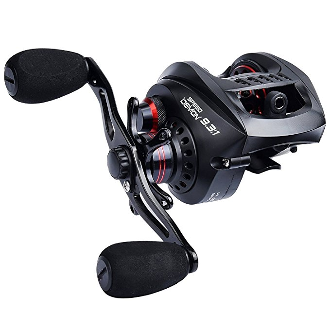 Normally $175, this fishing reel is 70 percent off today (Photo via Amazon)
