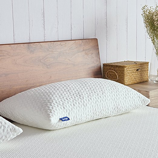 Normally $40, these memory foam pillows are 40 percent off with this code (Photo via Amazon)