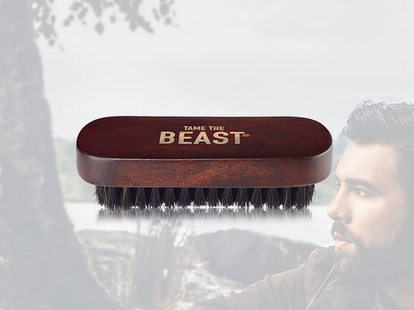 Normally $30, this beard set is 31 percent off