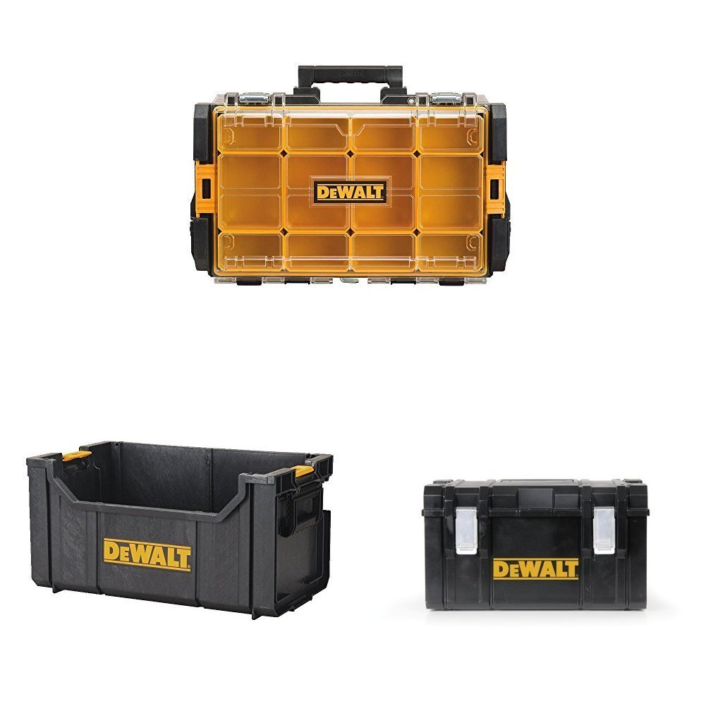 Normally $104 when purchased separately, this tool case and organizer bundle is 25 percent off today (Photo via Amazon)