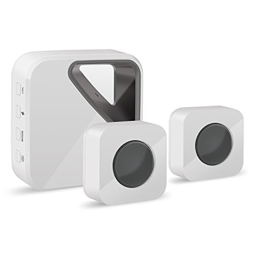 Normally $18, this wireless doorbell is 60 percent off with the code (Photo via Amazon)