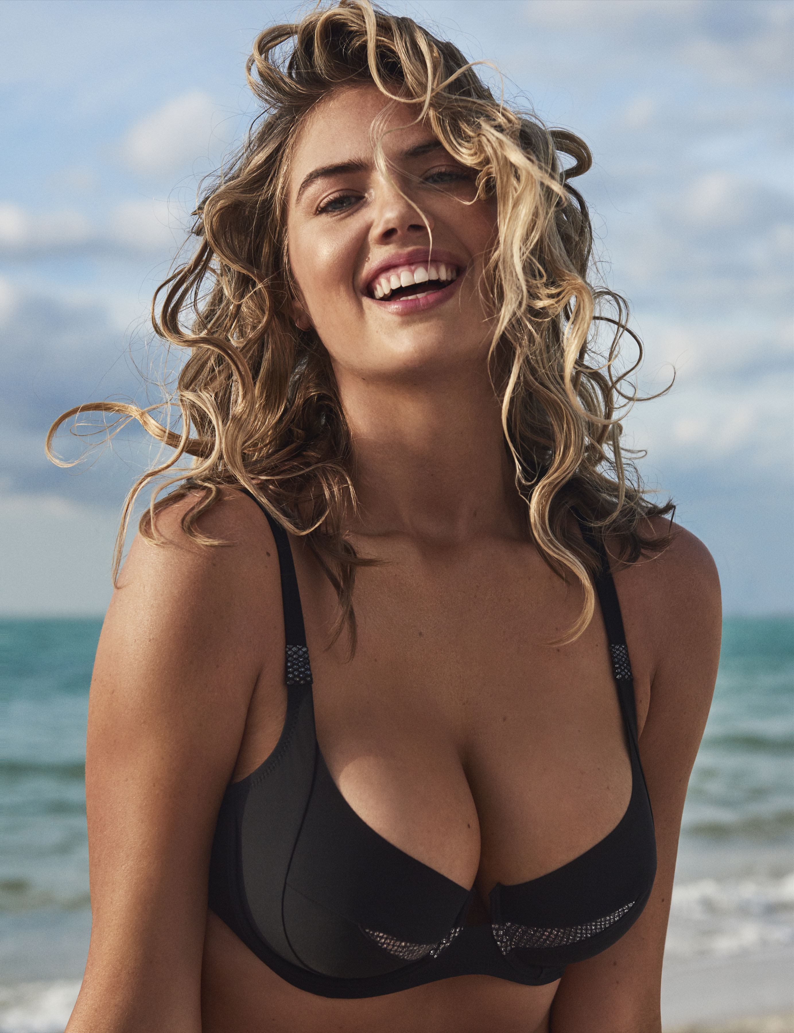 Bikini beauty Kate Upton models Yamamay s Sculpt Collection for Summer  2018. Kate posed in the d617c8a63
