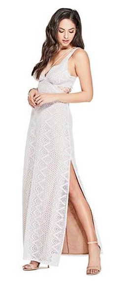 Normally $148, this dress is 30 percent off (Photo via Guess)
