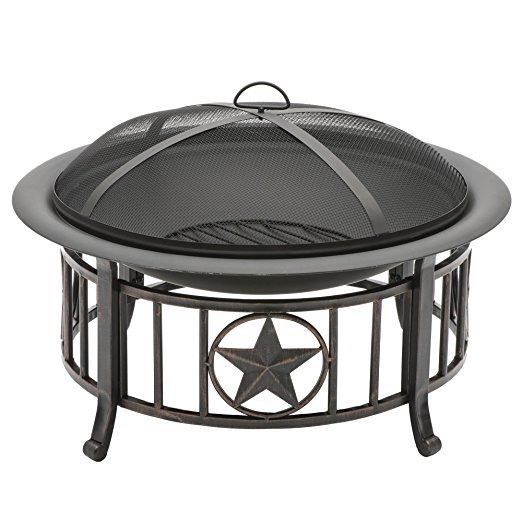 Normally $150, this fire pit is 53 percent off today (Photo via Amazon)