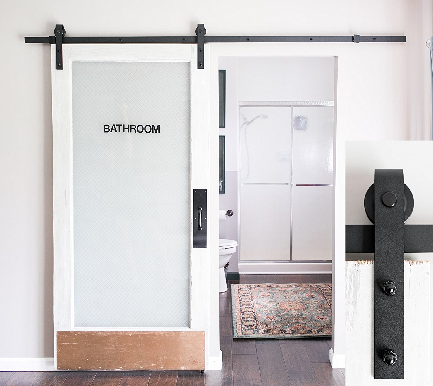A Sliding Barn Style Door Is The Home Furnishing You Never Knew You