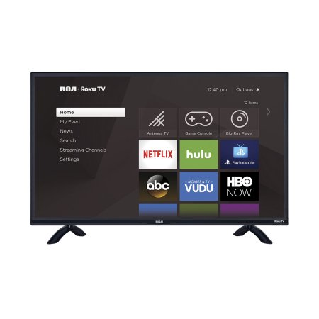 Normally $800, this smart TV is 56 percent off (Photo via Walmart)