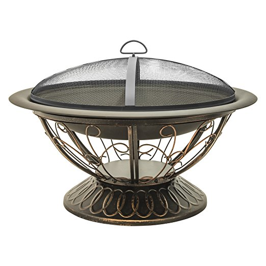 Normally $139, this fire pit is 54 percent off today (Photo via Amazon)