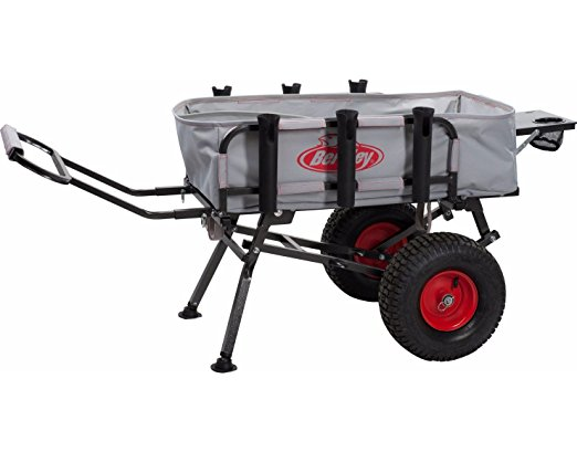 Normally $200, this fishing cart is 44 percent off today (Photo via Amazon)