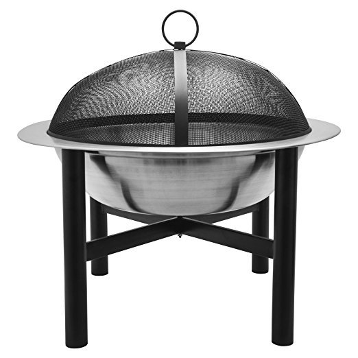 Normally $160, this fire pit is 53 percent off today (Photo via Amazon)