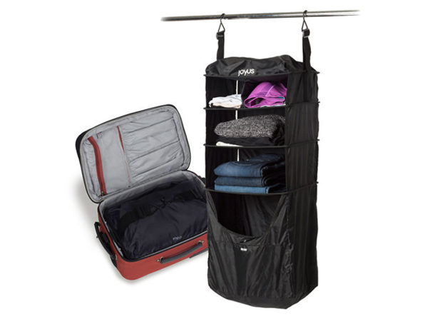 Normally $79, this luggage shelf is 43 percent off