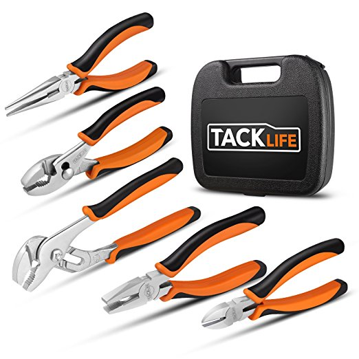 Normally $20, this 5-piece pliers set is 20 percent off with this code (Photo via Amazon)
