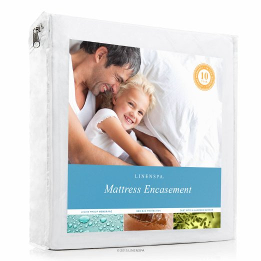 Normally $90 to $115, this mattress protector is as much as 82 percent off today (Photo via Amazon)