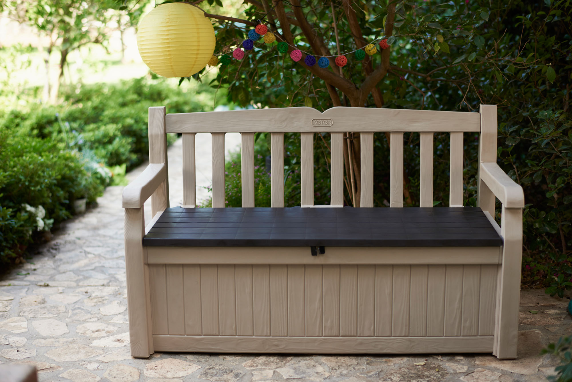 This 70-gallon bench is also on sale (Photo via Walmart)