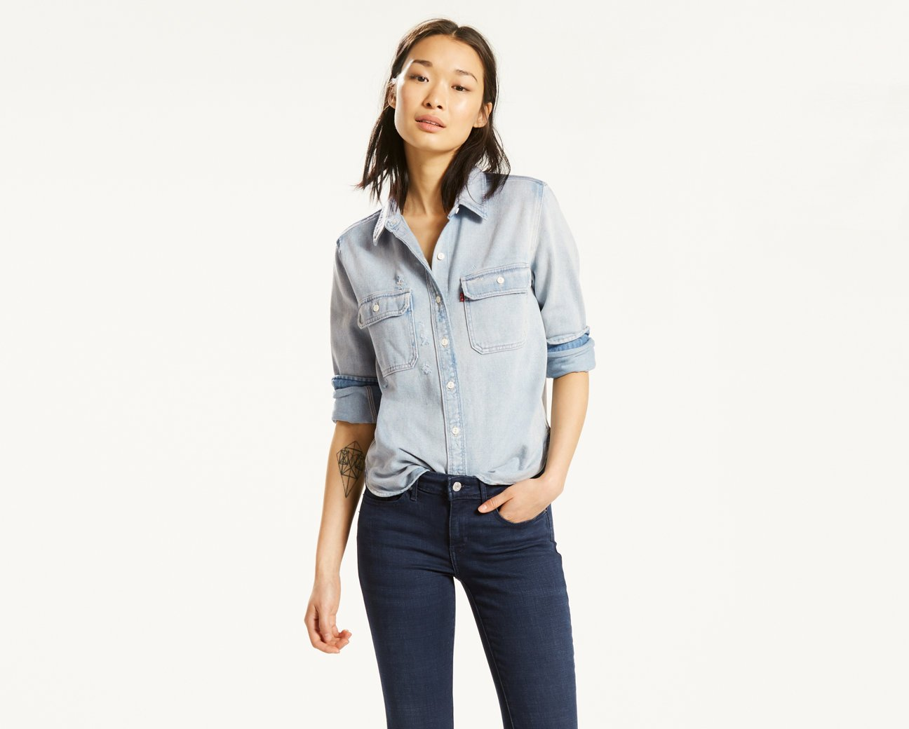Normally $75, this shirt is 20 percent off (Photo via Levi's)