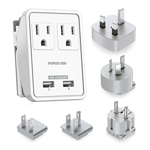 Normally $40, this #1 bestselling power adapter kit is 59 percent off today (Photo via Amazon)