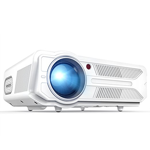 Normally $240, this projector is 17 percent off with this code (Photo via Amazon)
