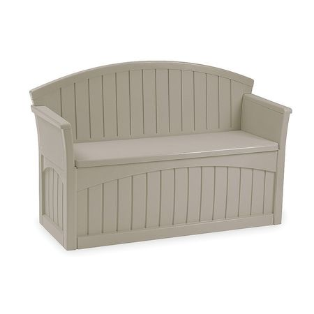 Normally $180, this patio storage bench is 55 percent off (Photo via Walmart)