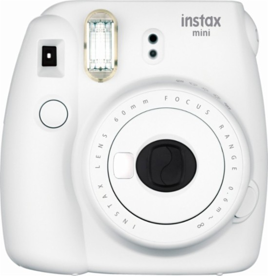 Normally $70, these instant cameras are $13 off - including the smoky white version (Photo via Best Buy)